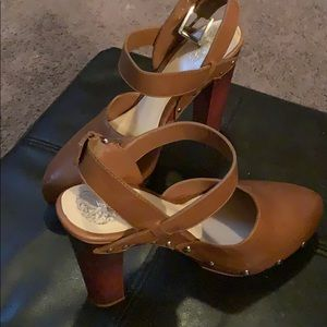 Vince Camuto Clog type heel with studs